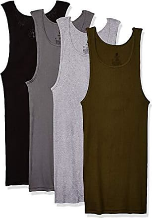 2930e053 Hanes Mens FreshIQ ComfortSoft Dyed Tagless Tanks 4-Pack, Assorted X Large
