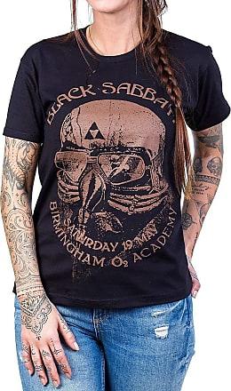 Bandalheira Camiseta Black Sabbath Aviador Feminino