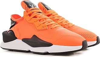 Yohji Yamamoto Sneaker für Herren, Tennisschuh, Turnschuh Günstig im Sale, Fluo Orange, Leder, 2019, 41 41.5 42 42.5 43 44 44.5 45