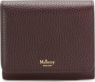 Mulberry Carteira com logo - Marrom
