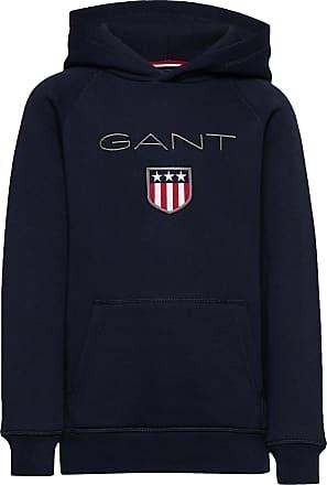 GANT Gant Shield Hoodie Hoodie Blå GANT