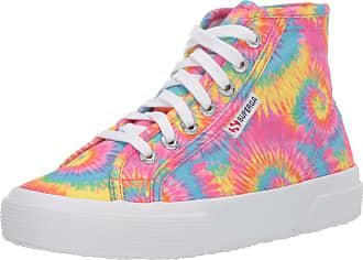 Superga Womens 2795 POLYFANTIEDYEW Sneaker, Tie Dye, 6