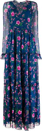 Philosophy di Lorenzo Serafini floral-print long dress - Blue