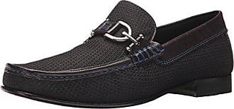Donald J Pliner Mens DACIO2 Loafer, Black Mesh, 7 M US