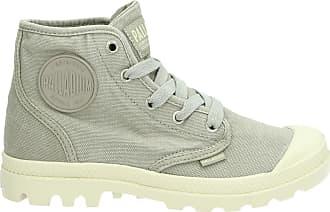 Laarzen met veters in palladium dames grijs schoenen   Fruugo