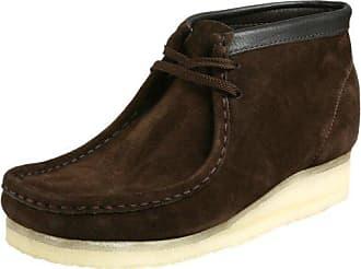 d579900fa4a Clarks Clarks Originals Mens Wallabee Boot, Brown Suede, 8 M