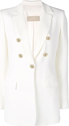 Elie Saab tailored buttoned blazer - Branco