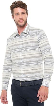 Yachtsman Camisa Yachtsman Reta Listrada Off-white/Azul