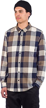 Quiksilver Motherfly Flannel Shirt sky captain motherfly