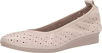 Aerosoles Womens Wooster LEATHER-10.5 M US Ballet Flat, Bone Leather, 10.5