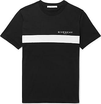 Givenchy Slim-fit Logo-print Cotton-jersey T-shirt - Black