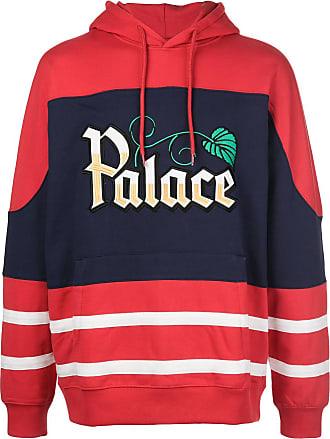 Palace Moletom com capuz e estampa de logo - Vermelho