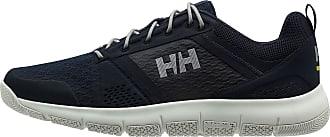 Helly Hansen Mens Skagen F-1 Offshore Sailing Deck Shoe, Navy/Graphite Blue/Off White/Metallic Silver, 9.5 UK