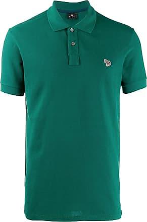 Paul Smith Camisa polo mangas curtas - Verde
