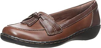Clarks Womens Ashland Bubble Shoe, Brown Mult, 7.5 M US