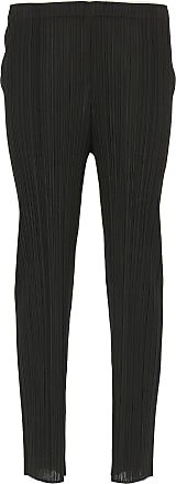 Issey Miyake Pants for Women On Sale, Black, polyester, 2017, 3 (L - 44/46) 4 (XL - 46/48)