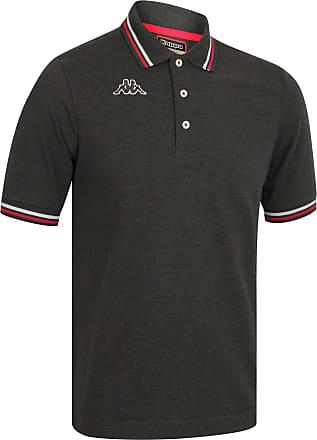Kappa Mens Pique Polo T-Shirt, Sea, Sport, Tennis, Boat, Football, Art Maltax 5 Mss - Black - S