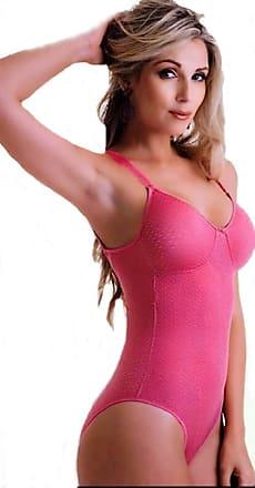 Duloren Modelador com Detalhe sem Bojo Duloren Cor:Rosa;Tamanho:44