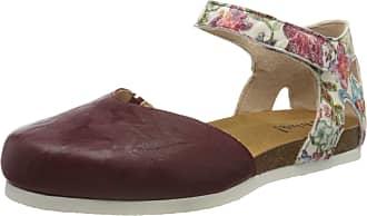 Think Womens 686596_Shik Ankle Strap Sandals, Multicolour (Rosso/Kombi 72), 2.5 UK