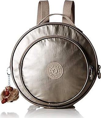 Kipling Rani Backpack with Printed Straps, Metallic Pewter, One Size