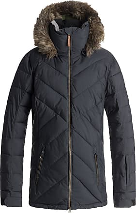 Roxy Quinn - Quilted Snow Jacket for Women - Quilted Snow Jacket - Women True Black