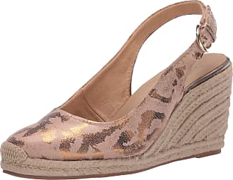 Naturalizer womens Pearl Espadrilles Brown Size: 9.5 Wide