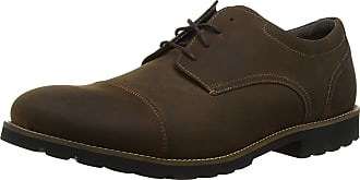 Rockport Mens Modern Break Captoe Oxfords, Brown Brown, 9 UK 43 EU