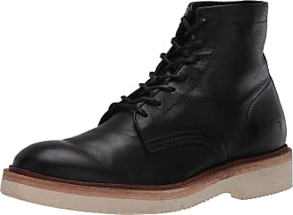 Frye Mens Bowery Weekend Lace Up Combat Boot, Black, 6.5 UK