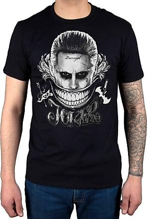 AWDIP Official Suicide Squad Joker Smile T-Shirt Black