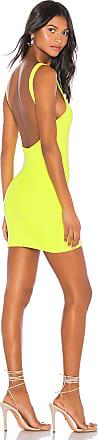 Superdown Kourtney Backless Mini Dress in Green