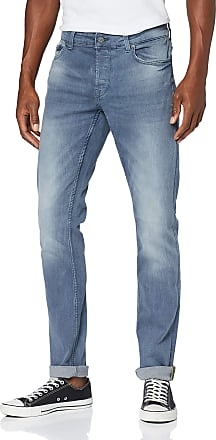 Only & Sons Mens Onsloom Blue Pk 3627 Noos Slim Jeans, Grey (Grey Denim Grey Denim), W33/L30 (Size: 33)