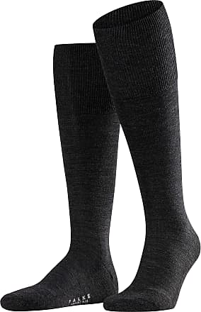Falke Mens 15403 Airport Plus KH Knee-High Socks, Grey (Anthra Mel 3080), 6/7