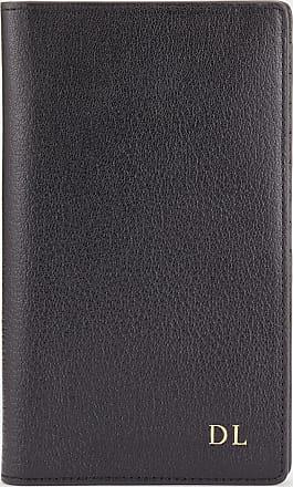 Anya Hindmarch Bespoke Travel Wallet Capra in Black