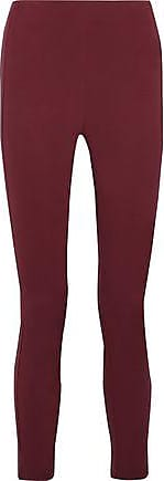Theory Theory Woman Navalane Stretch-jersey Leggings Brick Size 2