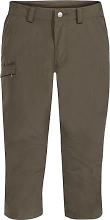 Vaude Farley Capri Pants Shorts für Herren | braun/oliv