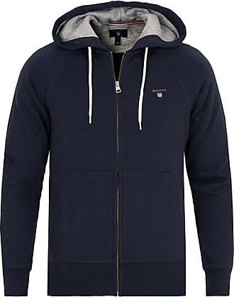 17f4ccd2337 GANT The Original Full Zip Hoodie Evening Blue