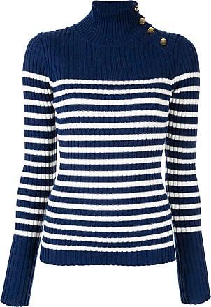 Baum Und Pferdgarten Suéter listrado de tricô - Azul