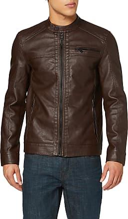 Only & Sons Mens ONSAL PU NOOS OTW Jacket, Black (Slate Black Slate Black), XL