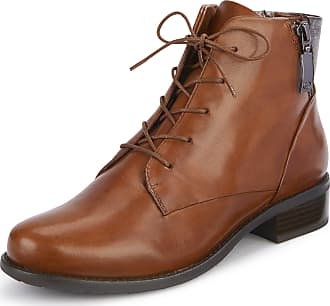 Gerry Weber Ankle boots Calla in cowhide nappa Gerry Weber brown