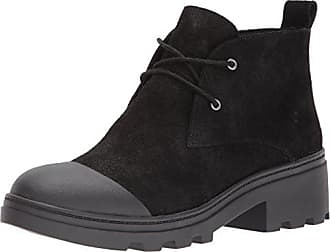 Eileen Fisher Womens Reese Fashion Boot, Black, 5.5 M US