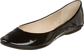 Kenneth Cole Reaction Womens Slip On By Ballet Flat,Black Patent,5 M US