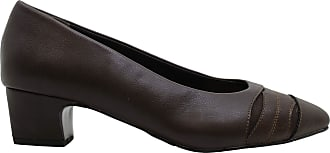 Easy Street Womens Babette Leather Pointed Toe Classic Pumps, Brown, Size 10.0 U US