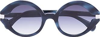 Kaleos Óculos de sol redondo Moran - Preto