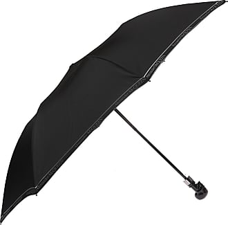 Alexander McQueen Decorative Handle Umbrella Mens Black