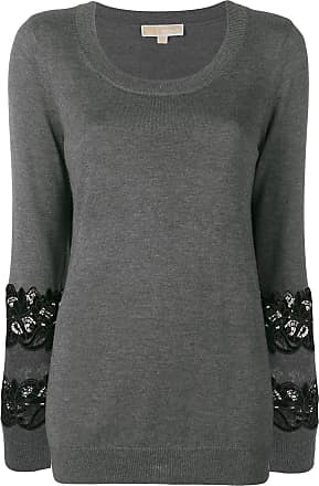8c54ae6e293 Michael Michael Kors embroidered detailed jumper - Grey
