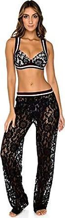 Luli Fama Womens Swimwear, -black, MED