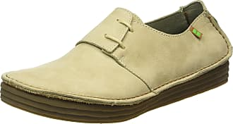 El Naturalista S.A Nf80 Pleasant Rice Field, Womens Derby lace-up shoes, Grey (Piedra), 7 UK (40 EU)