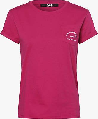 Karl Lagerfeld Damen T-Shirt rot