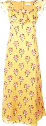 Borgo De Nor Vestido longo floral - Amarelo