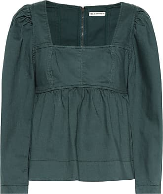 Ulla Johnson Malie denim blouse
